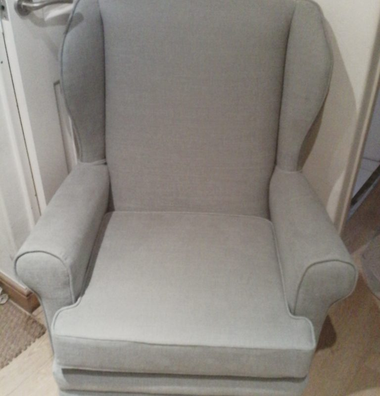 Small Wing Back Armchair